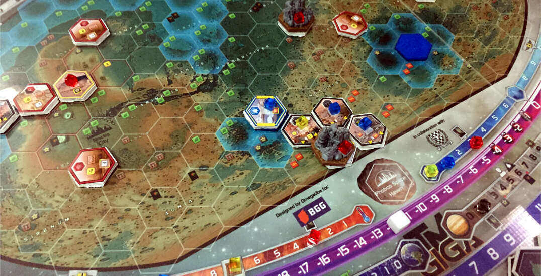 Terraforming Mars: My experience with the GIGA expansion