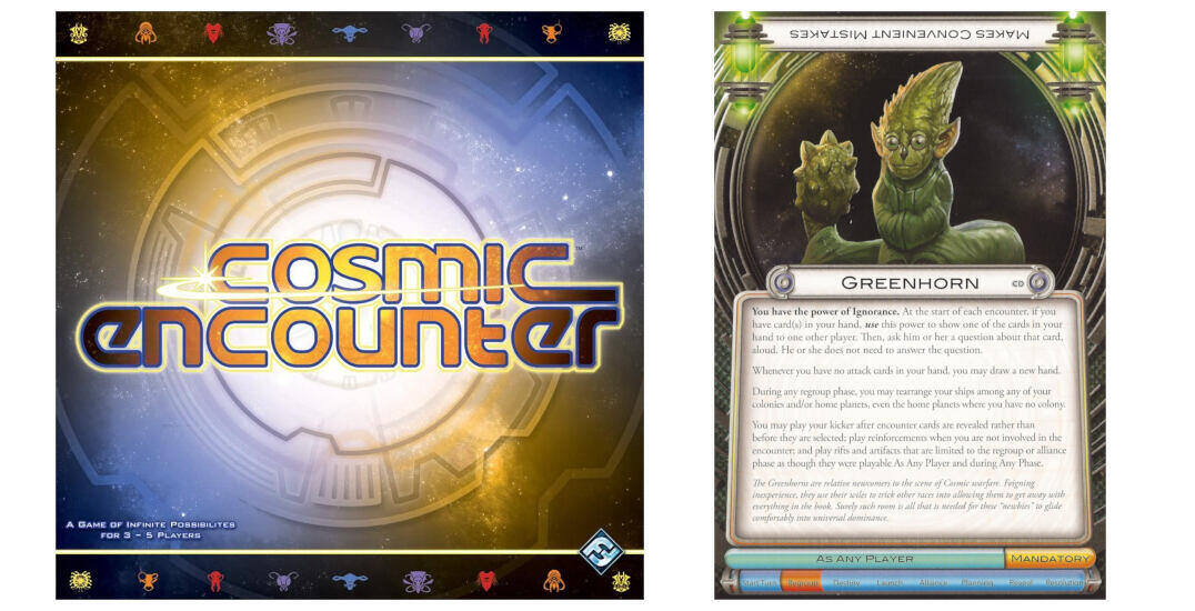 Cosmic Encounter: How to have a great first experience